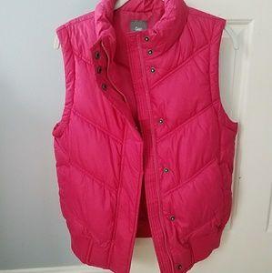 Gap Hot Pink Vest Medium
